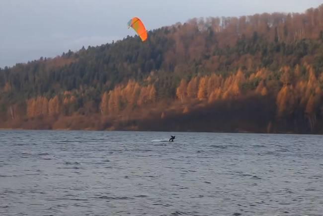 windsufing